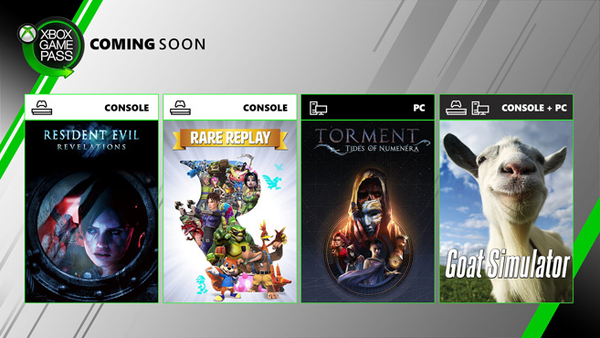 Xbox Game Pass junio