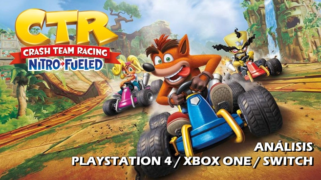 Cartel Crash Team Racing Nitro-Fueled