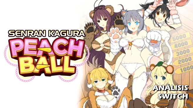Cartel Senran Kagura Peach Ball