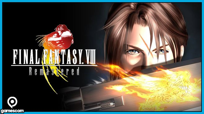 Final Fantasy VIII Remastered Gamescom