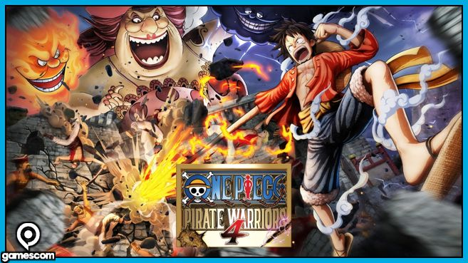 One Piece Pirate Warriors 4 Gamescom