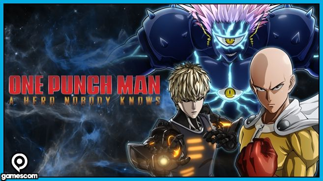 One Punch Man - A hero nobody knows Gamescom