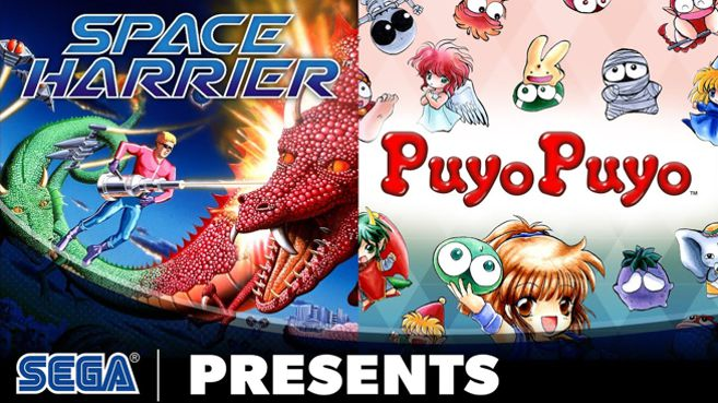 Sega Ages Space Harrier y Puyo Puyo
