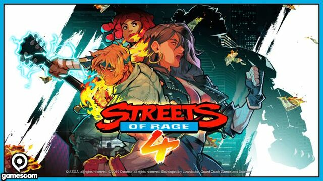 Street of Rage 4 Gamescom