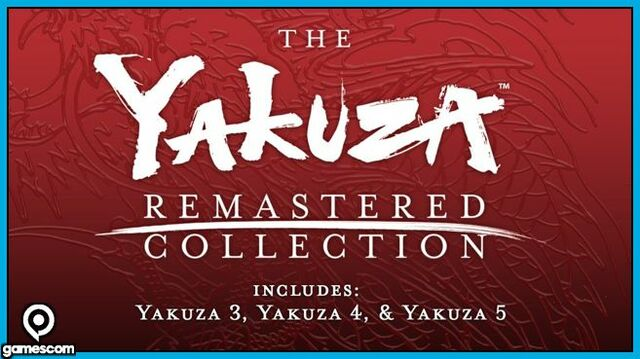 The Yakuza Remastered Collection Gamescom