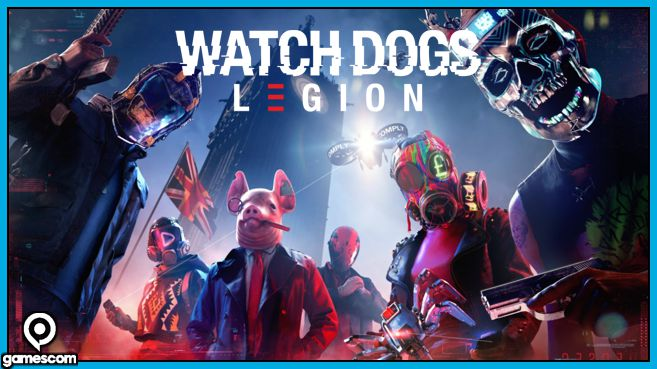 Watch Dogs Legion Gamescom