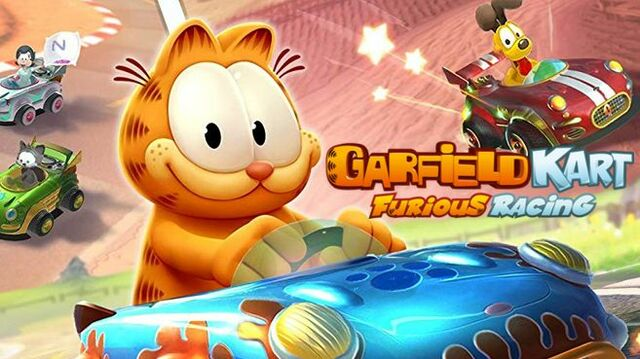 Garfield Kart Furious Racing Principal