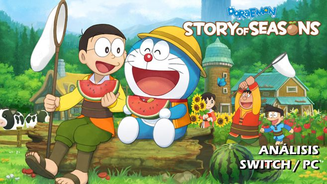 Cartel Doraemon Story of Seasons