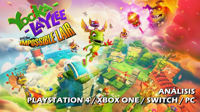 Cartel Yooka-Laylee and the Imposible Lair