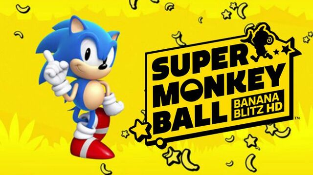 Super Monkey Ball Banana Blitz HD Sonic