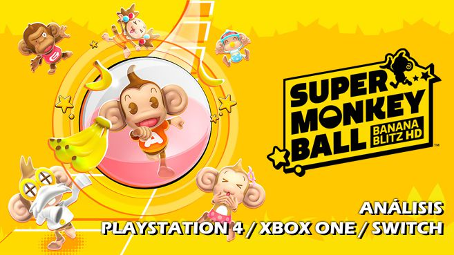 Cartel Super Monkey Ball Banana Blitz HD
