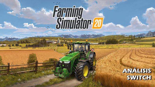 Análisis de Farming Simulator 20 para Nintendo Switch