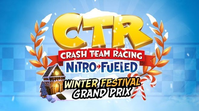 Crash Team Racing Nitro-Fueled Grand Premio Festival Invernal