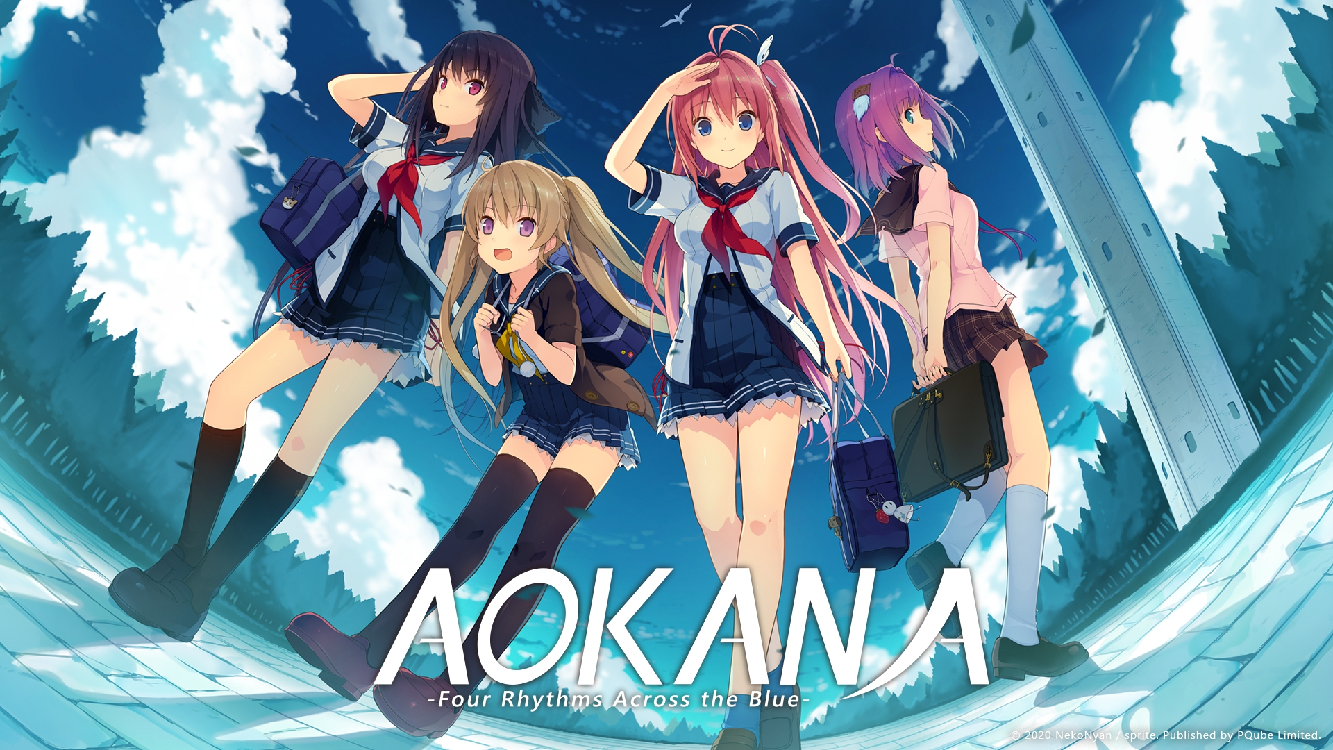 Aokana Four Rhythms Across the Blue Principal