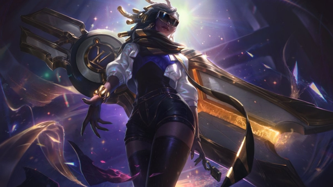 League of Legends Senna True Damage edición de prestigio