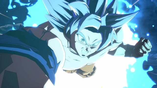 Dragon Ball FighterZ Goku (Ultra Instinct)