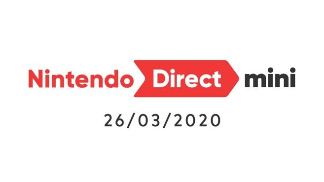 Nintendo Direct Mini 26 Marzo 2020
