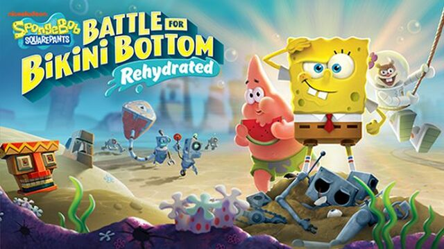 SpongeBob SquarePants Battle for Bikini Bottom - Rehydrated