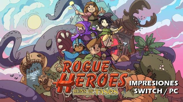 Cartel Impresiones Rogue Heroes Ruins of Tasos