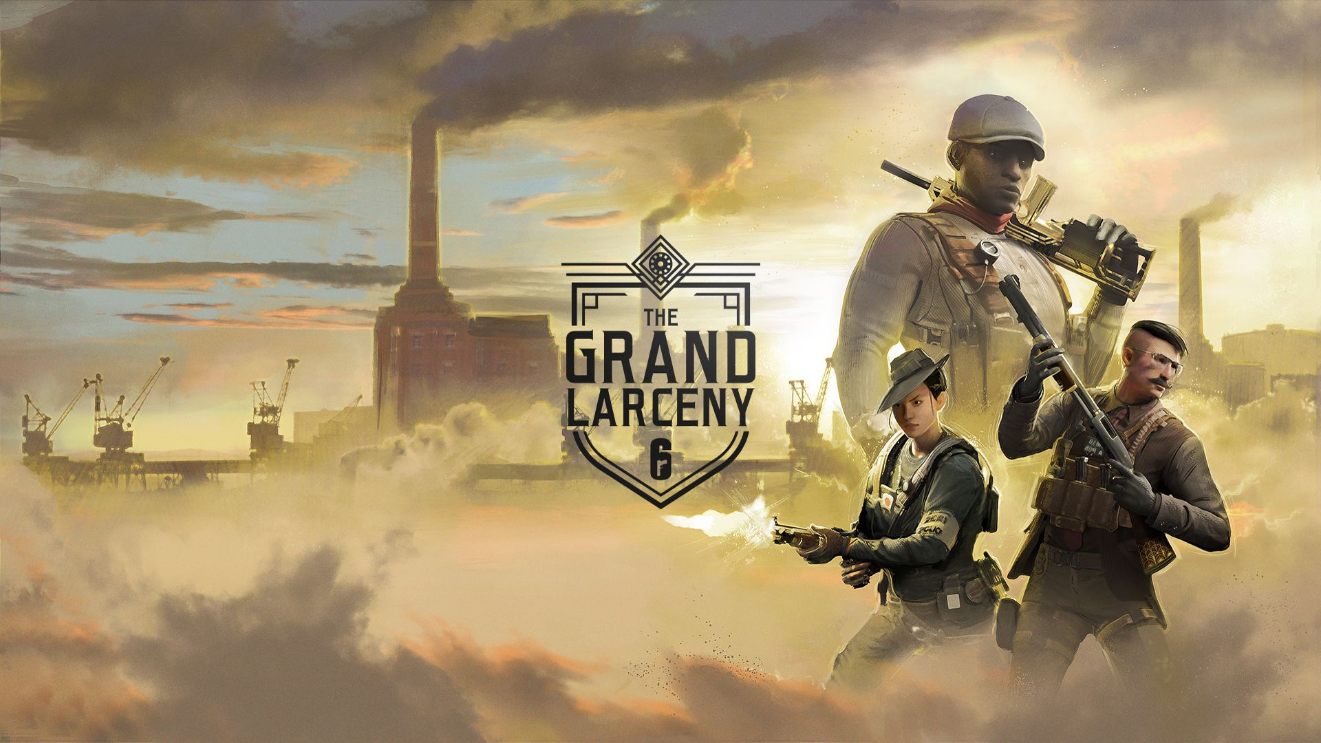 Rainbow Six Siege The Grand Larceny