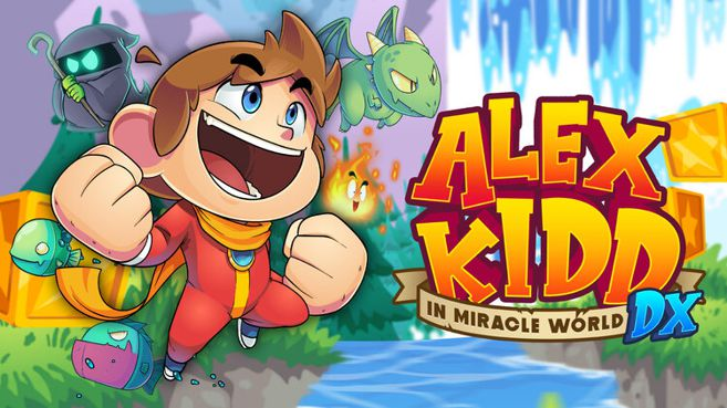 Alex Kidd In Miracle World DX Principal