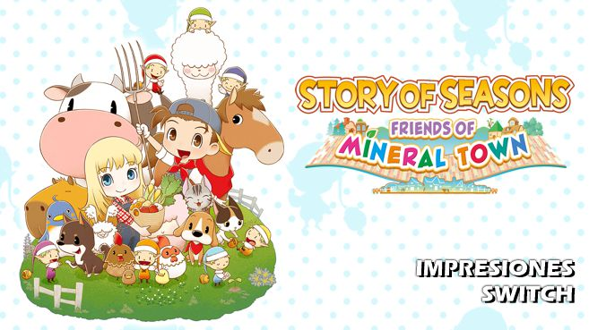 Cartel Impresiones Story of Seasons - Friends of Mineral Town