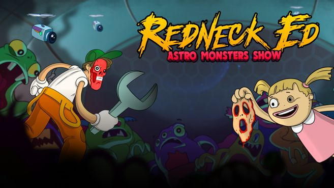 Redneck Ed Astro Monsters Show Principal