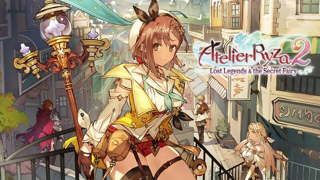 Atelier Ryza 2 Lost Legends & the Secret Fairy Principal