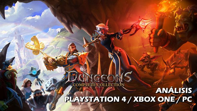 Análisis de Dungeons 3: Complete Collection
