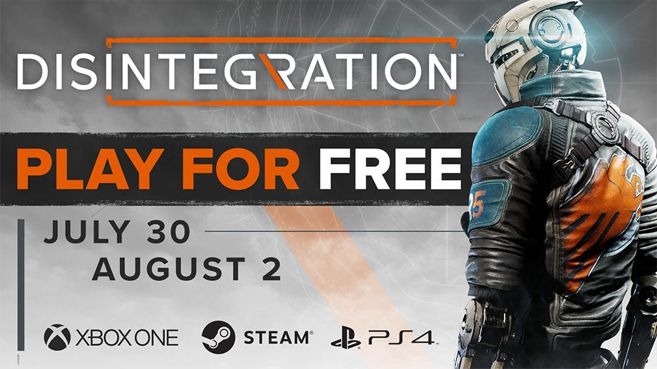 Disintegration free weekend