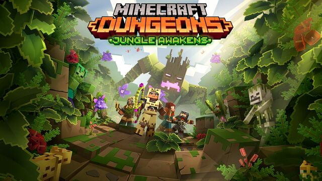 Minecraft Dungeons - Jungle Awakens