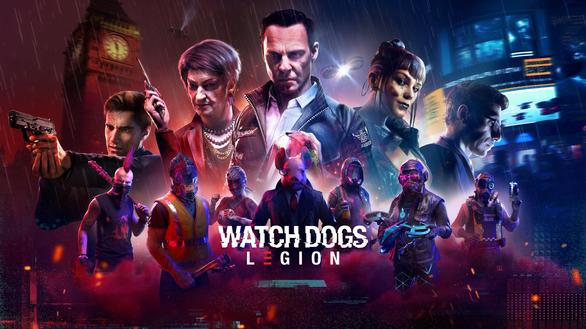 Watch Dogs Legion Principal