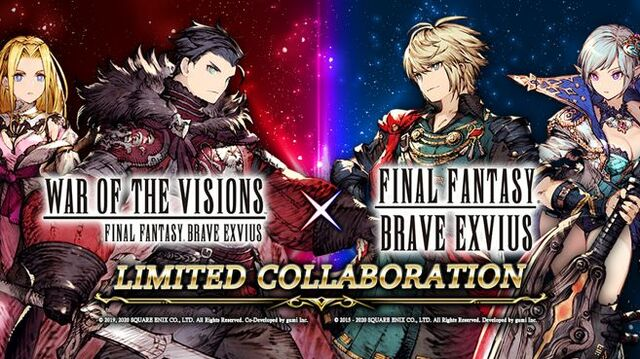 WotV FF Brave Exvius Limited Collaboration