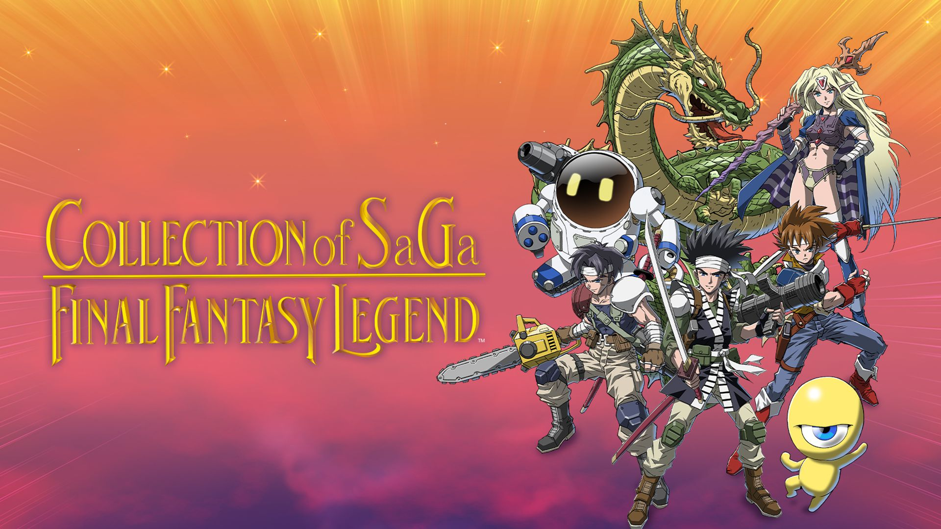 Collection of SaGa Final Fantasy Legend Principal