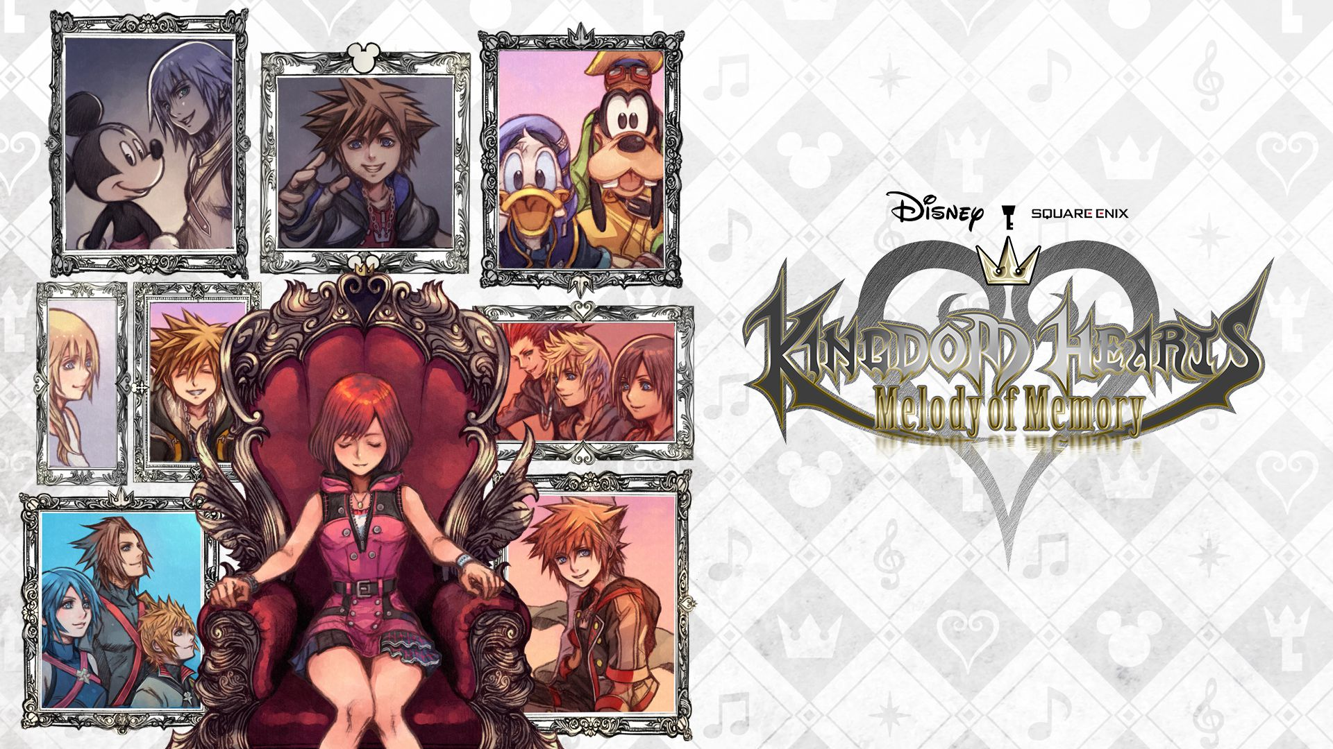 Kingdom Hearts Melody of Memory Principal