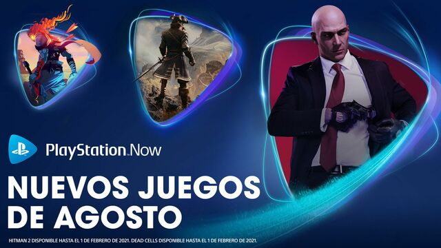 PS Now Agosto 2020
