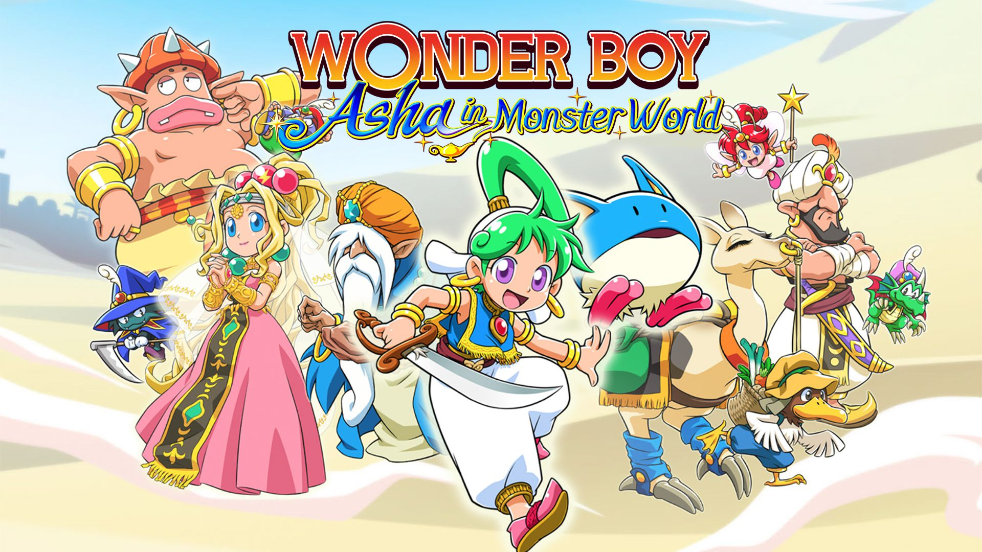 Wonder Boy Asha in Monster World Principal