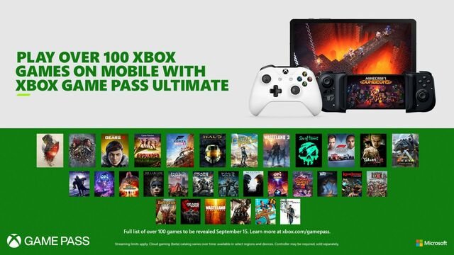 Xbox Game Pass Ultimate - Project xCloud