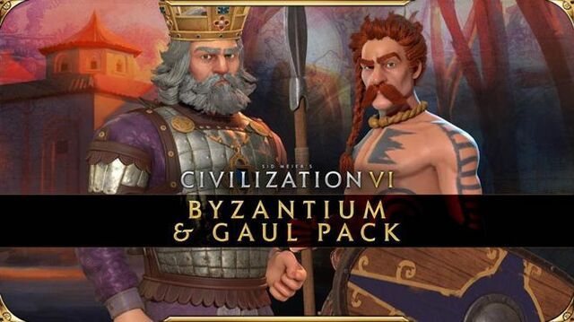 Civilization VI Pack de Bizancio y la Galia