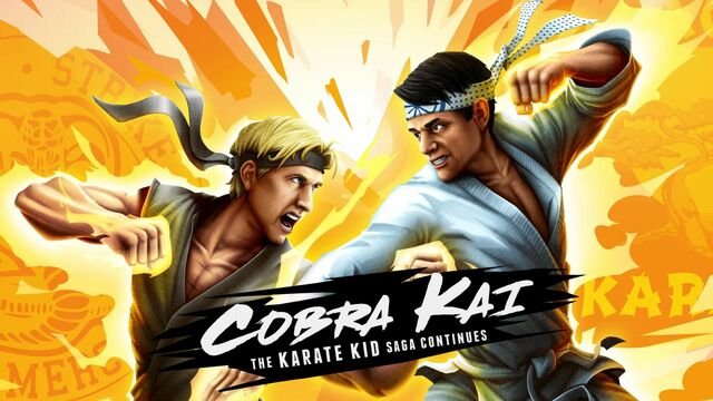 Cobra Kai The Karate Kid Saga Continues Principal