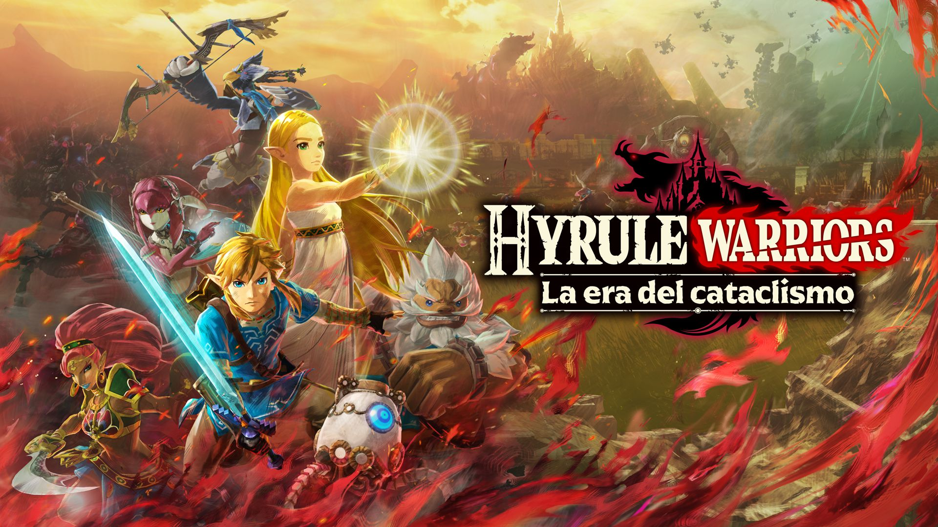 Hyrule Warriors La era del cataclismo Principal