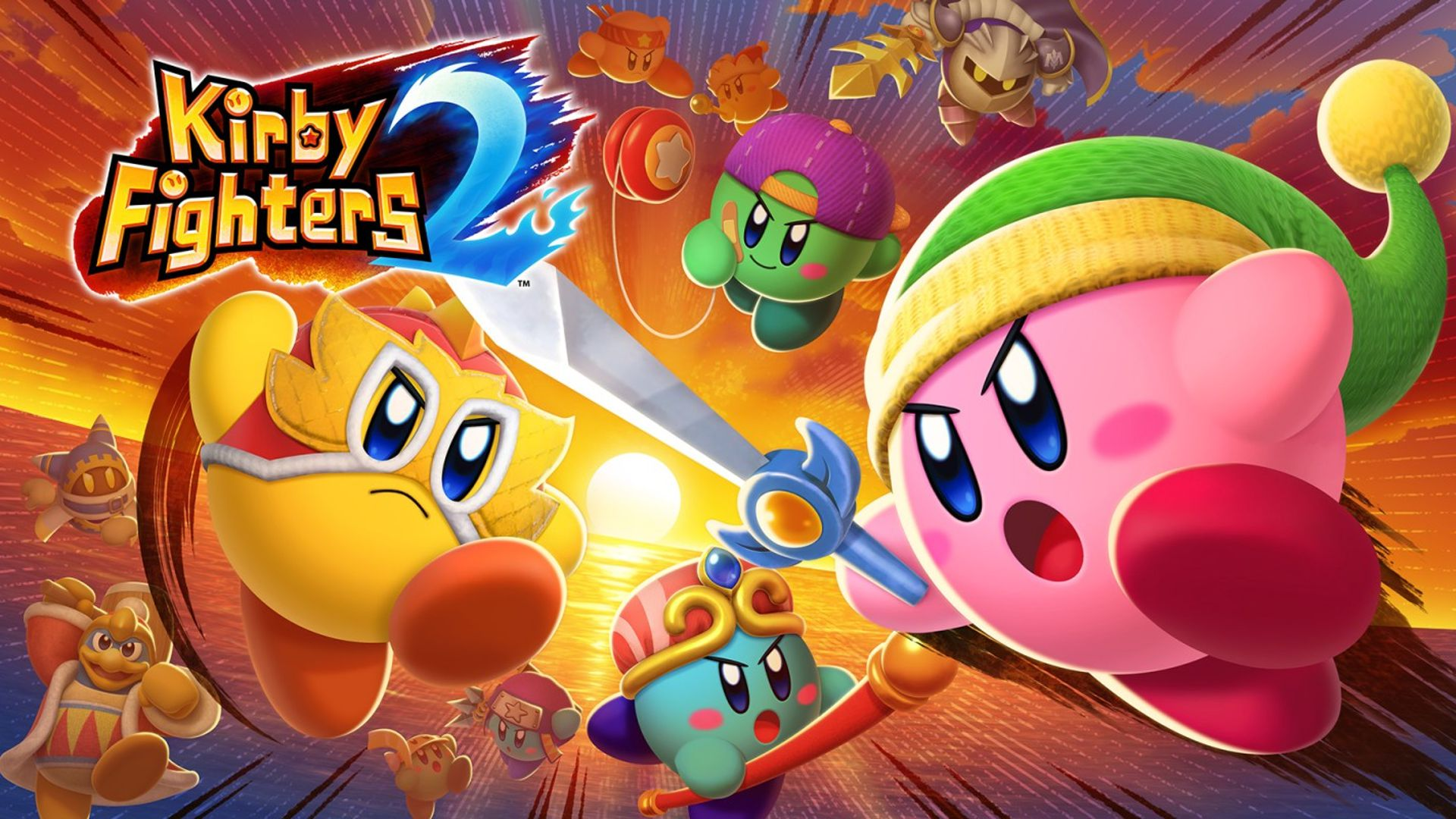 Kirby Fighters 2 Principal
