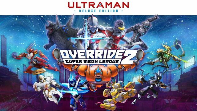 Override 2 Super Mech League - ULTRAMAN Deluxe Edition