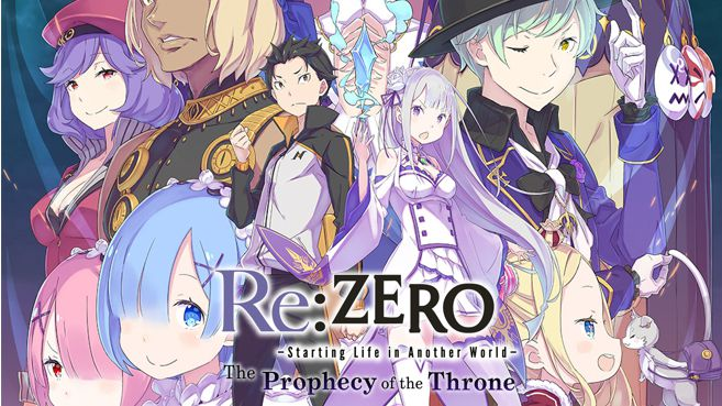 Re ZERO -Starting Life in Another World- The Prophecy of the Throne