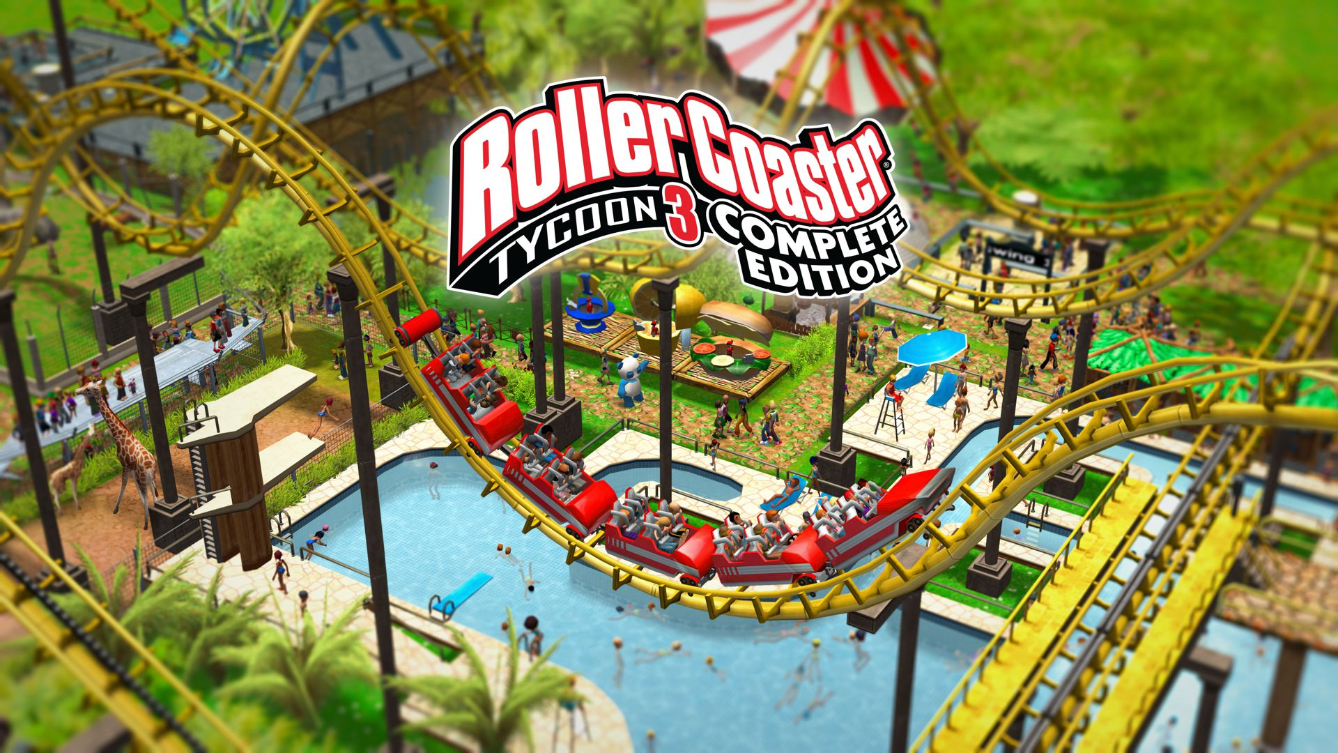 RollerCoaster Tycoon 3 Complete Edition Principal