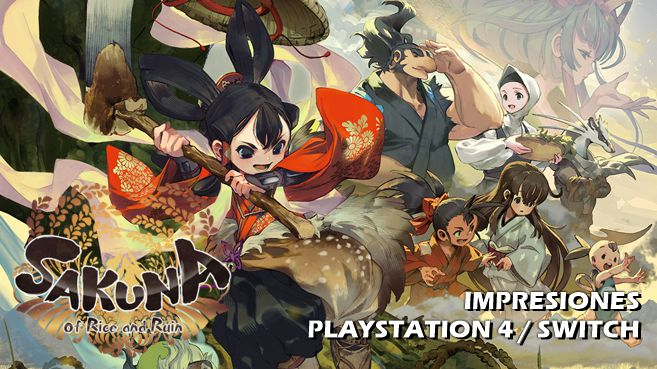 Cartel Impresiones Sakuna Of Rice and Ruin