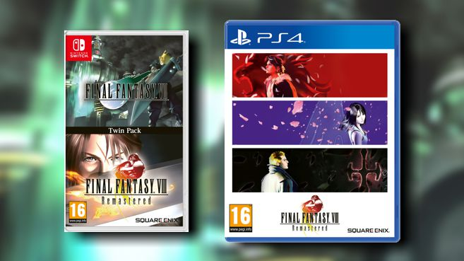 Final Fantasy VII y VIII Twin Pack