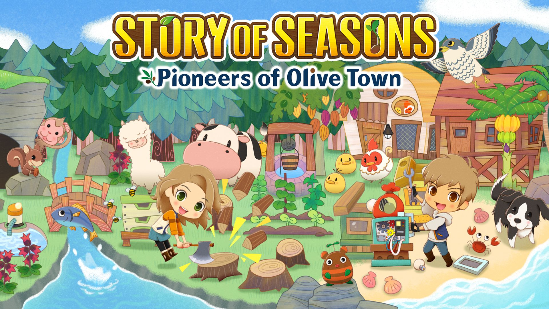 Story of Seasons Pioneers of Olive Town Principal