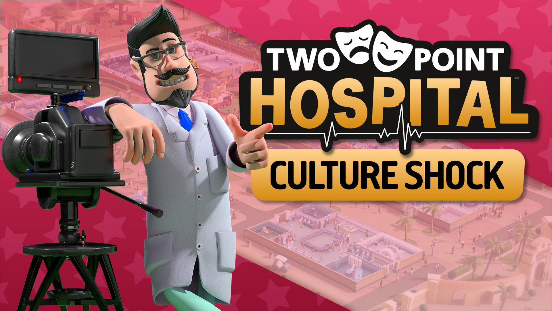 Two Point Hospital Choque cultural