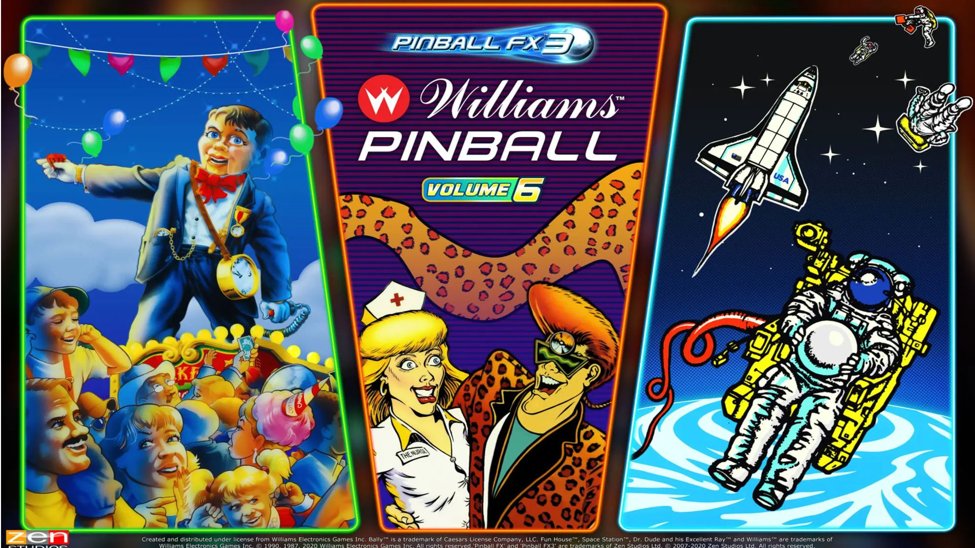 Williams Pinball Volume 6